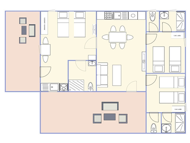Plan Chalet 3 Chambres 16 1024x696
