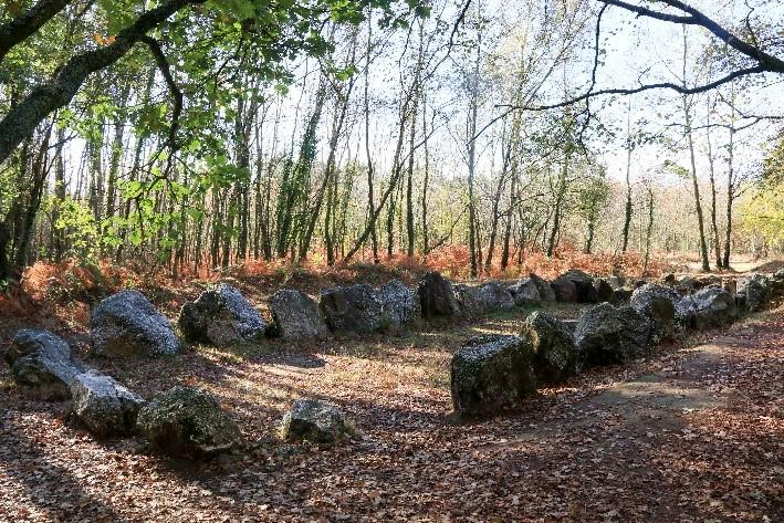 Le jardin aux Moines, site mégalithique à voir lors d'une balade en Brocéliande !